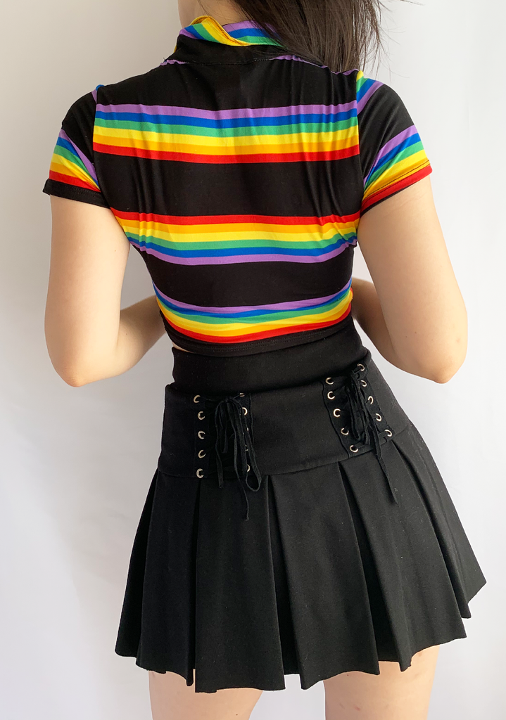 Rainbow Queen Polo Top