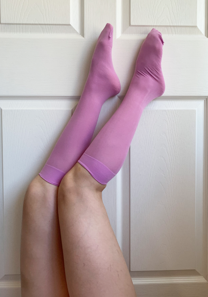 Violet BB Knee High Sock