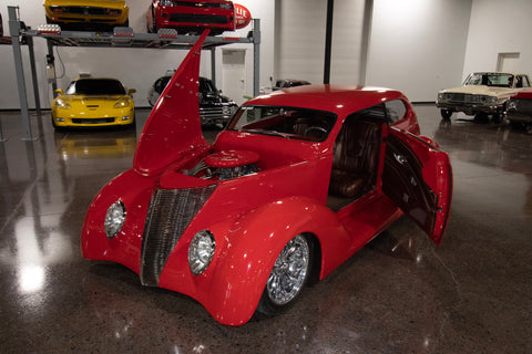 1937 Ford Coupe Custom