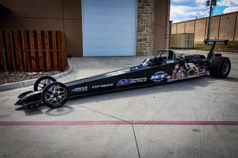 TWIN TURBO RACETECH TOP DRAGSTER
