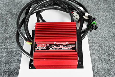 MSD Programmable Boost Launch Controller