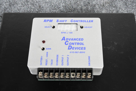 ACD RPM Shift Controller