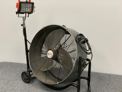 Utilitech Fan w/ Light