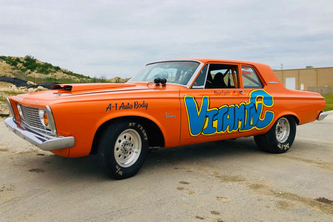 PLYMOUTH BELVEDERE NOSTALGIA SUPER STOCK - VITAMIN C