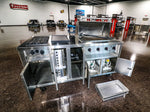 All-New Stainless Steel Portable Cooking Center