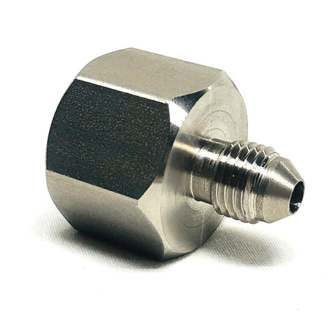 AIR BOTTLE ADAPTOR, STAINLESS STEEL