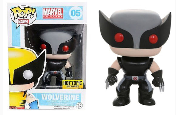 05 Wolverine Gray Hot Topic Exclusive