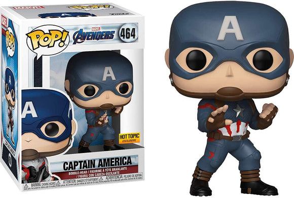 464 Avengers Captain America Hot Topic Exclusive