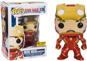 136 Civil War Iron Man Hot Topic Exclusive (Unmasked)
