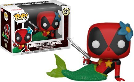 321 Deadpool Mermaid Target Exclusive