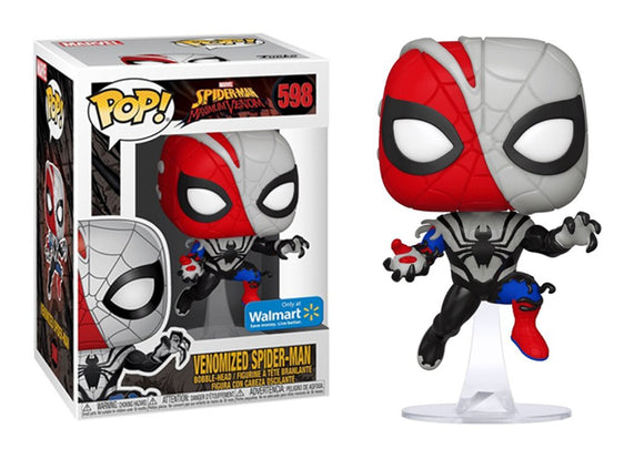 598 Venomized Spider Man Walmart Exclusive