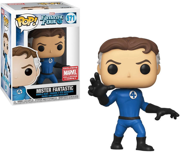 571 Mister Fantastic Marvel Corps. Exclusive