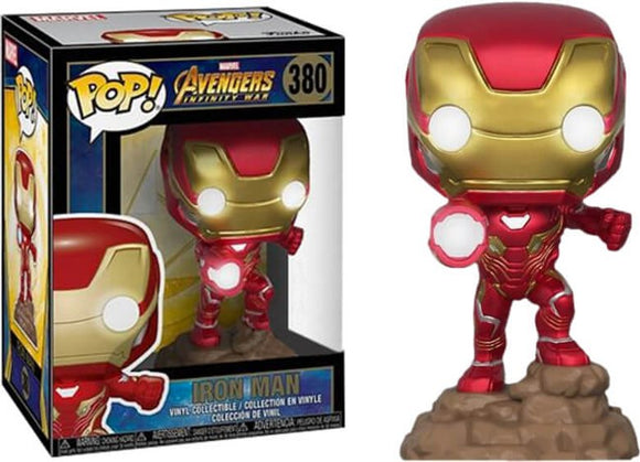 380 Iron Man Lights Up! Walgreens Exclusive