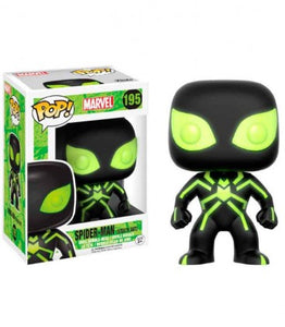 195 Spider Man Stealth Suit Hot Topic Exclusive (Glow In The Dark)