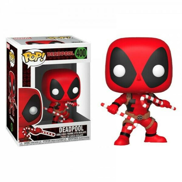 400 Deadpool Xmas with Candy Cane