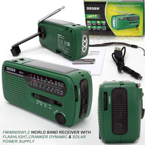 Solar Power Emergency Radio