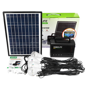 Solar Panel Power Storage Generator