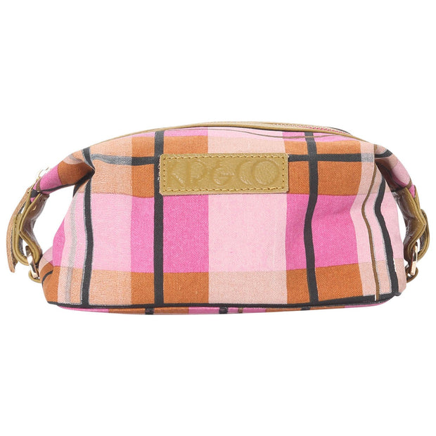 kip&co tartan toiletry bag