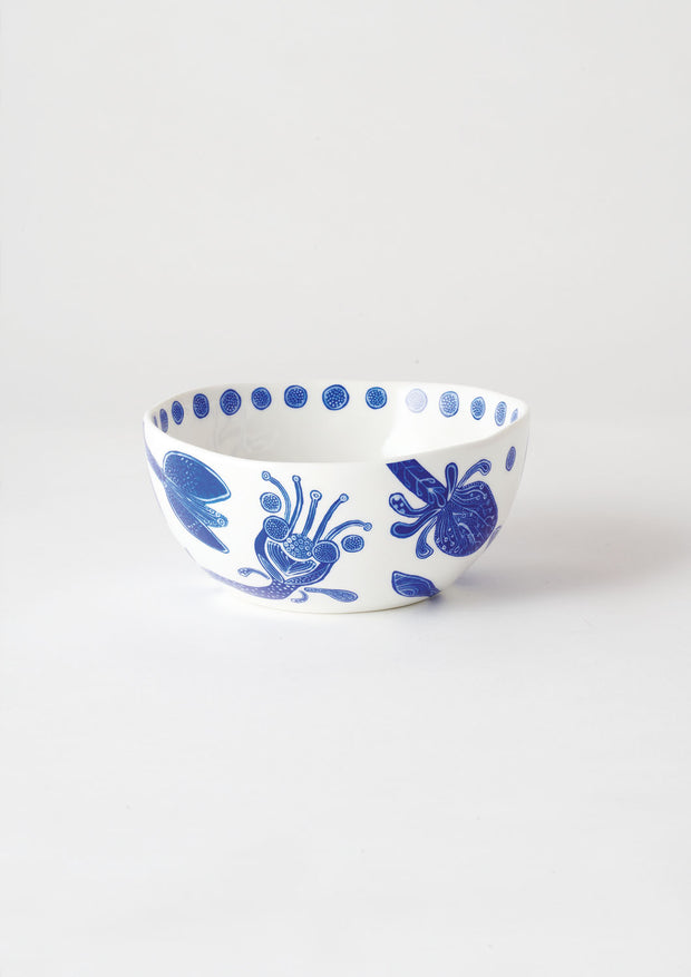 angus & celeste side bowl / bohemian blue