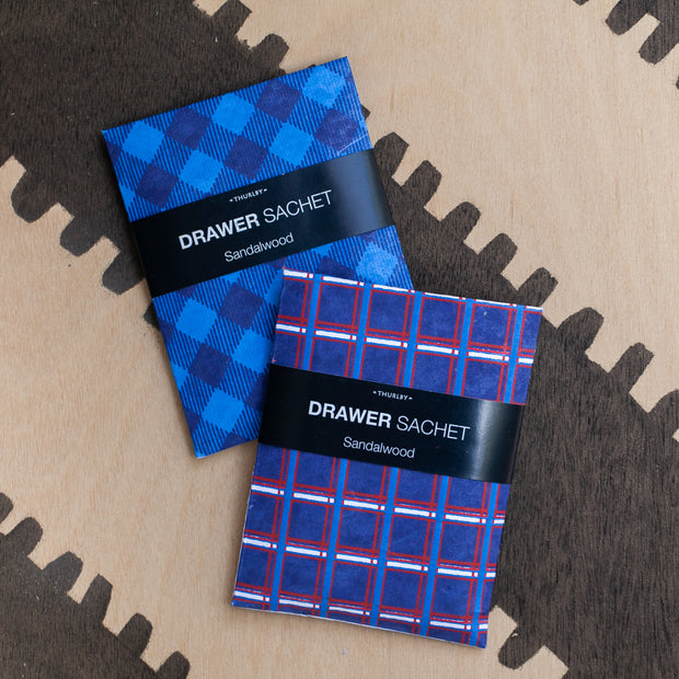 thurlby drawer sachet / check m8te