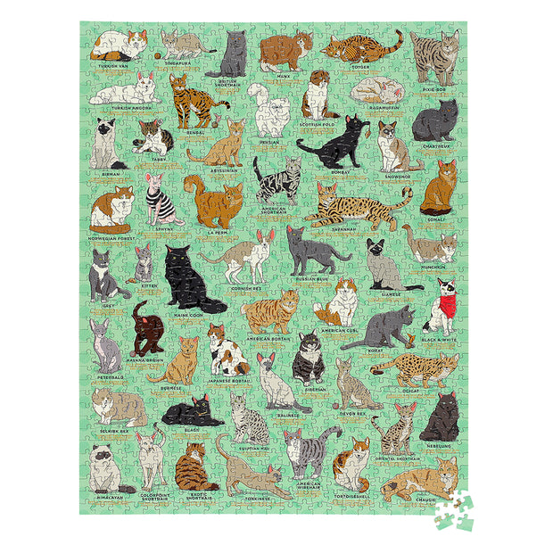 cat lovers / jigsaw puzzle