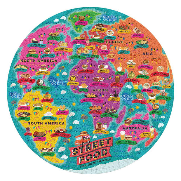 street food lovers jigsaw puzzle