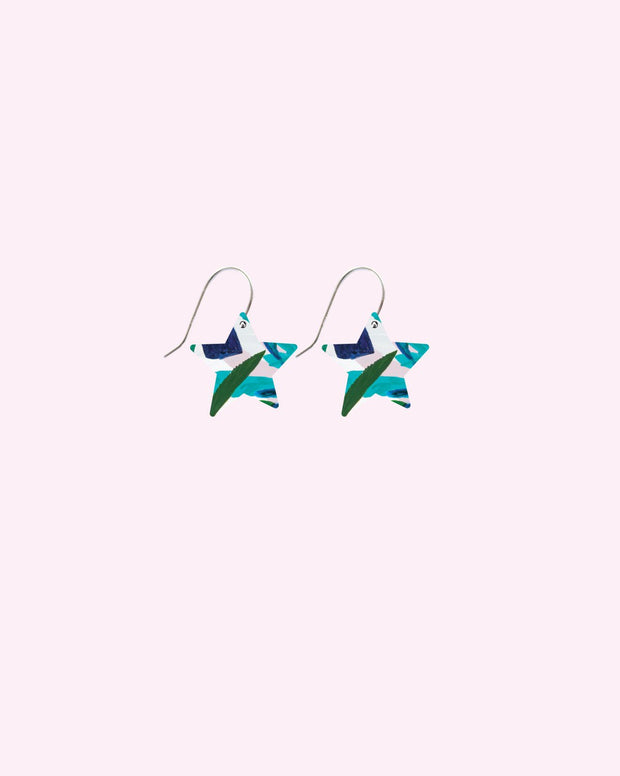 star drop earrings / special edition