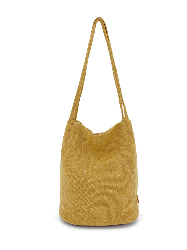 natural long handle bag
