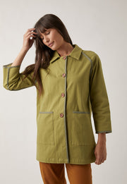 nancybird lela trench coat