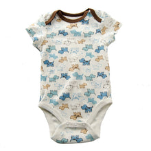 Load image into Gallery viewer, Dog and Puppy Printed Baby Outfit/Bodysuit