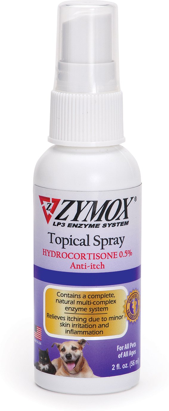 Zymox Topical Spray with 5% Hydrocortisone