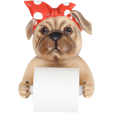 Load image into Gallery viewer, Resin Dog Roll Paper Holder for Kitchen or Bathroom