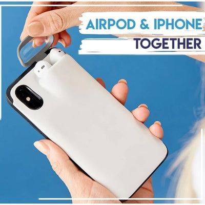 2-In-1 iPhone & AirPods Case - Gym Explosion