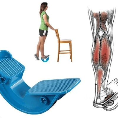 FootRock - Calf, Ankle & Plantar Muscle Stretch Board - Gym Explosion