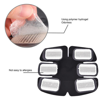 Replacement Gel Pads For Muscle Stimulators - Gym Explosion