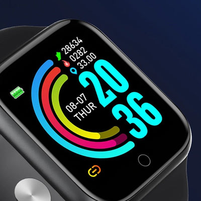 Smart Watch And Blood Pressure Heart Rate Monitor For Apple And Android - All in One Best Smartwatch - Gym Explosion