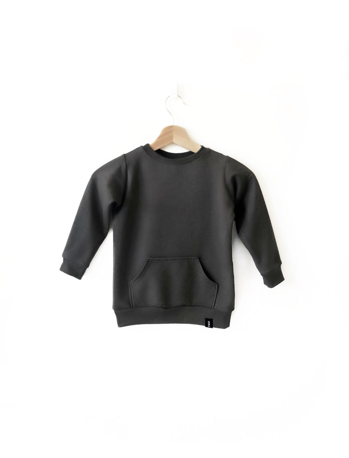 Child Crew Neck Sweater - Charcoal.JPG