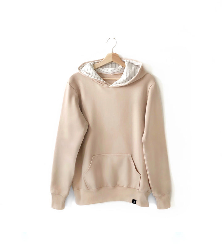 Adult Hooded Sweater - Beige.JPG