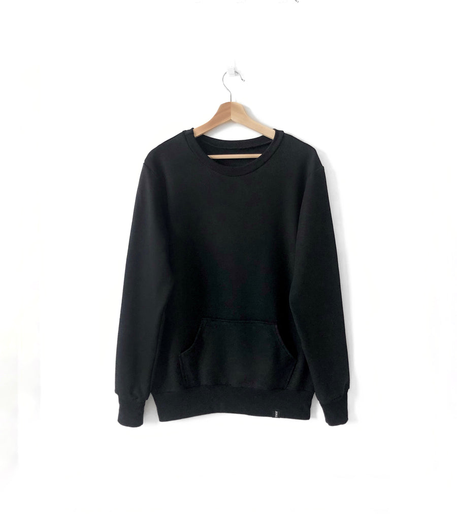 Adult Crew Neck Sweater - Black.jpg