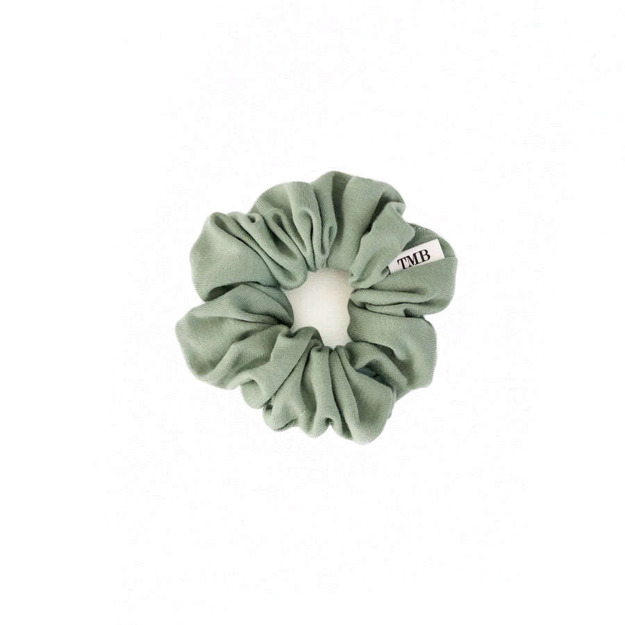 Child Sage Green Scrunchie
