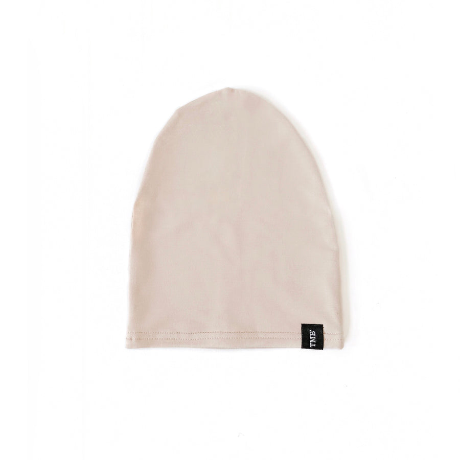 Beige Child Beanie