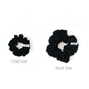 Adult Black Scrunchie