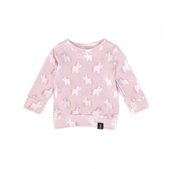 Mini Unicorn Crew Neck Sweater