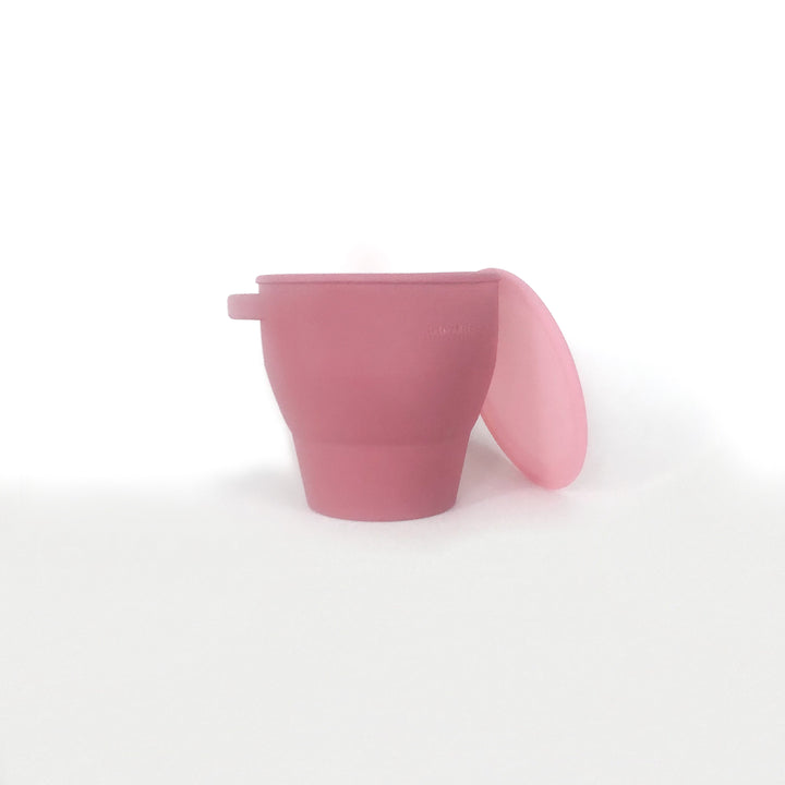Collapsible Snacking Cup - Rose