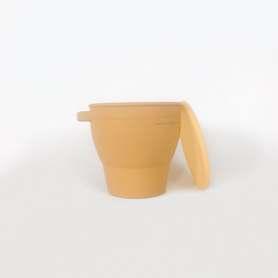 Collapsible Snacking Cup - Mustard