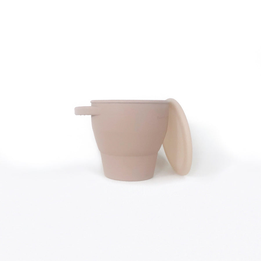 Collapsible Snacking Cup - Taupe