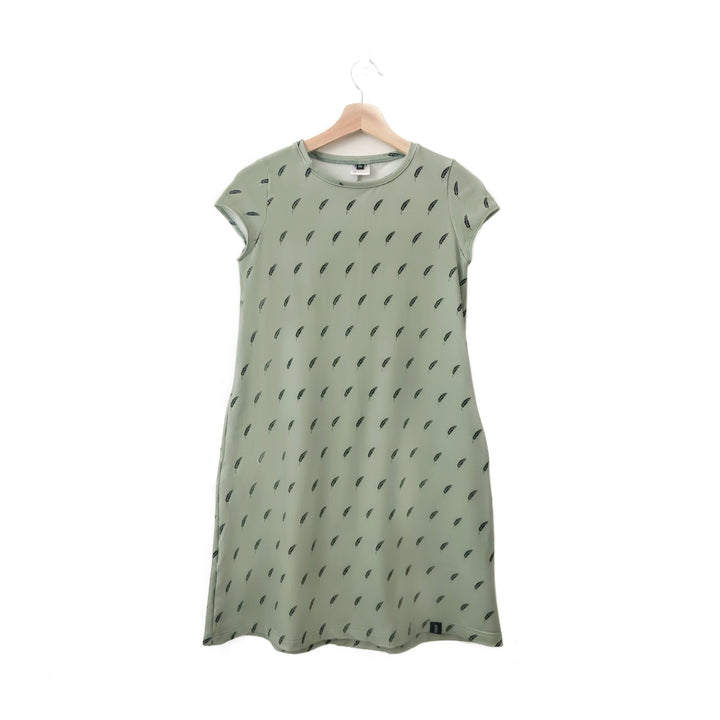 Wheat Leaf Woman's T-Shirt Pocket Dress