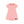 Peachy Coral Pocket T-Shirt Dress