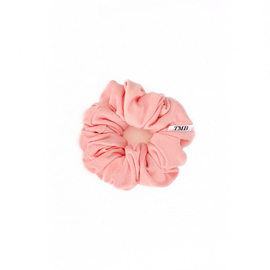 Child Peachy Coral Scrunchie