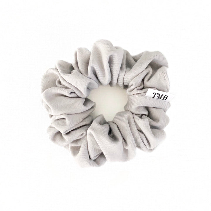 Adult Silver Scrunchie